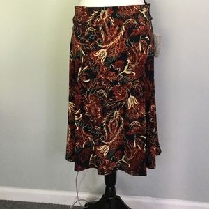 LuLa Roe skirt Large Fall